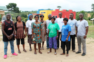 The Touch A Life Ghana Care Center staff.