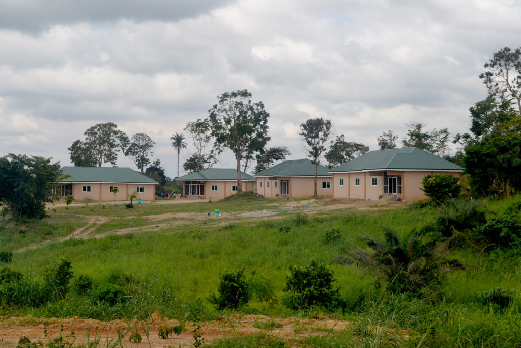 The Care Center dormitory buildings in 2012.